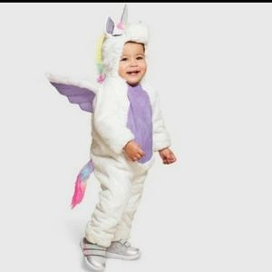 Hyde and Eek Baby Unicorn Costume with Shoe Covers